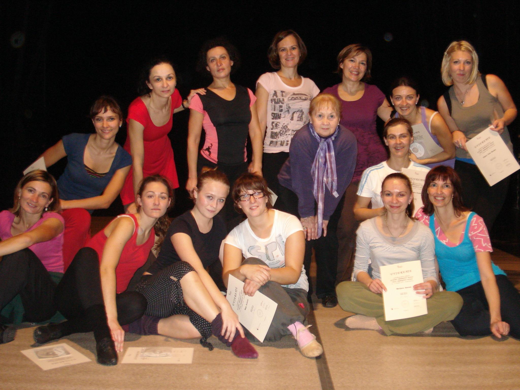 SEMINAR za voditelje plesnih grupa