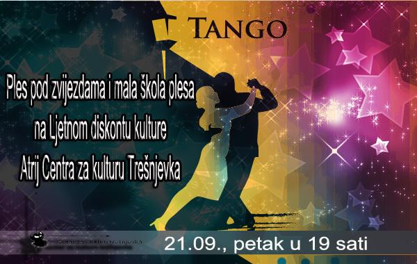 Ples pod zvijezdama na Ljetnom diskontu kulture