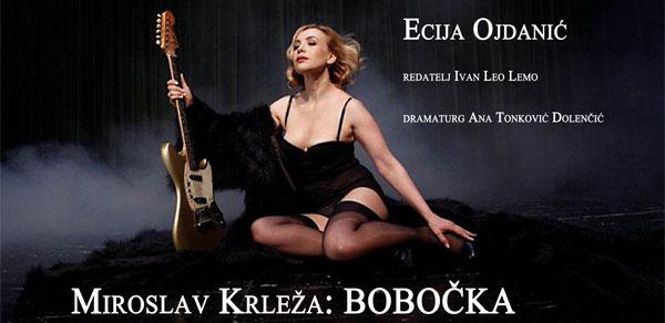 """Krležina """"Bobočka"""" Ecije Ojdanić / 14. 3.  / 20 sati"""