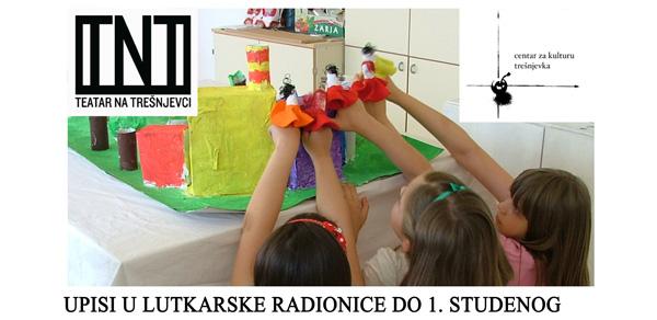 Lutkarska radionica za djecu: četvrtkom od 17 sati