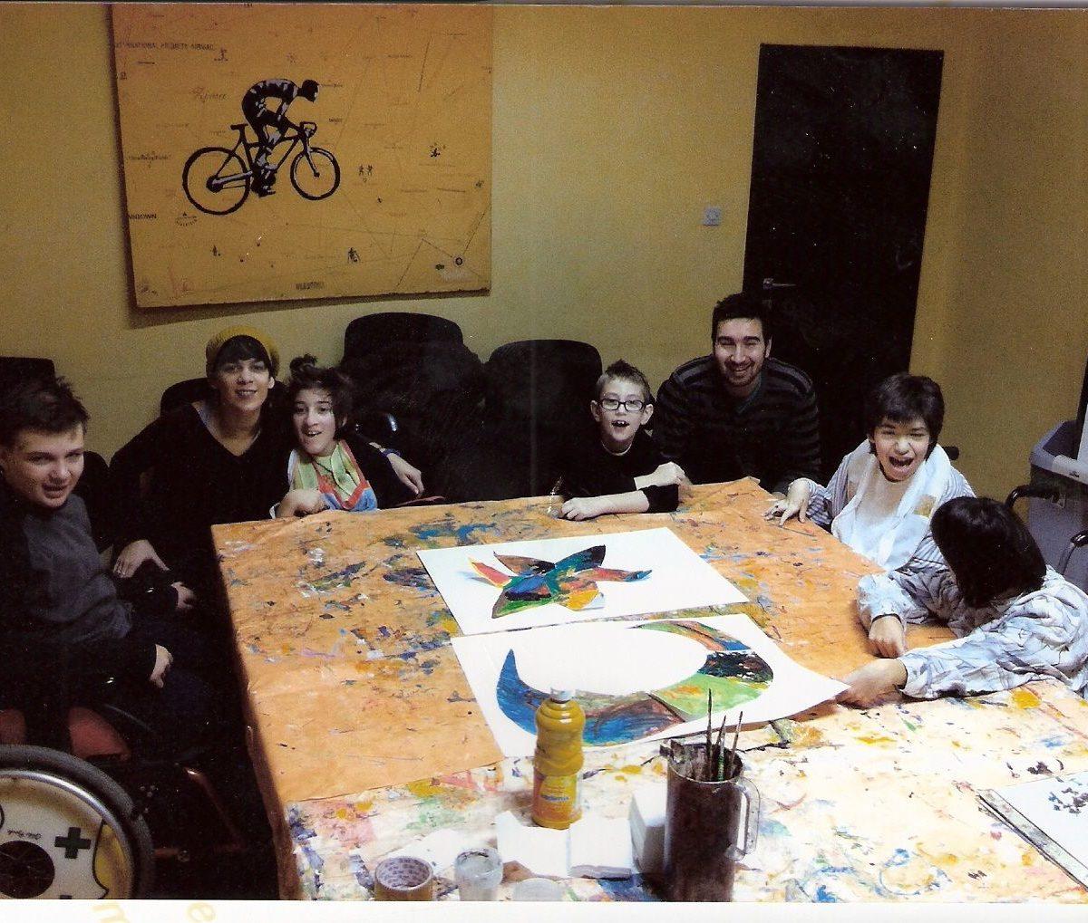 Izložba VESELI ATELJE- radionice za djecu s cerebralnom paralizom
