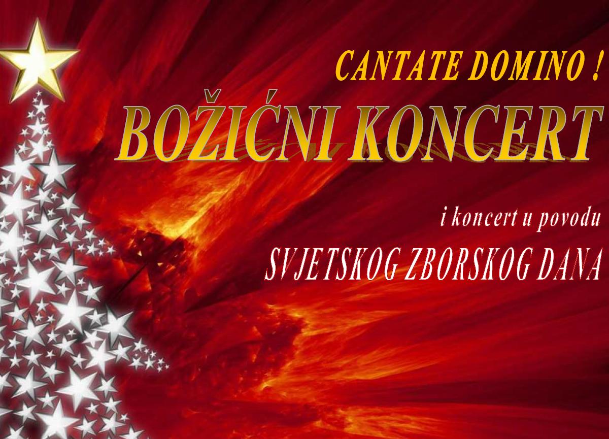 Cantate Domino – BOŽIĆNI KONCERT