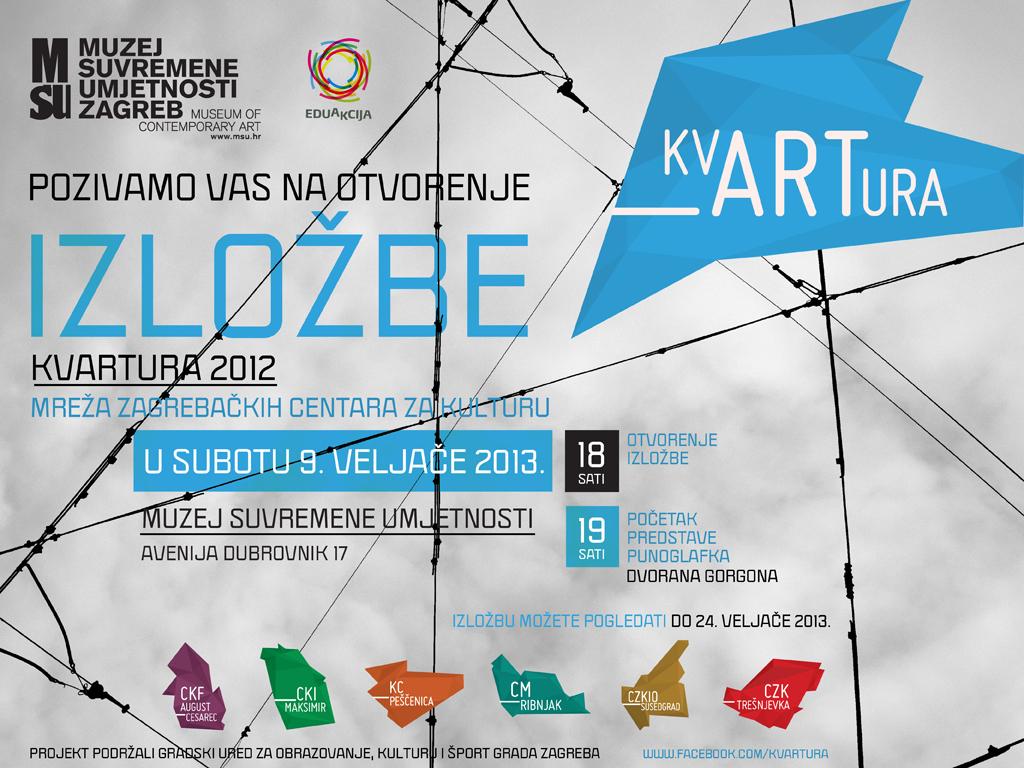 kvARTura 2012 /izložba u Školici MSU-a