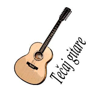 Tečaj gitare I i II. stupanj / upisi u tijeku