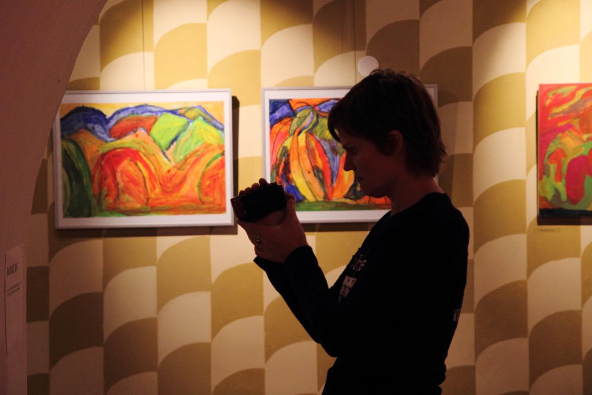 1. Izložba taken by Otto Kowen Prague