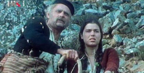 """Iz serije """"Prosjaci i sinovi"""", na slici Fabijan Šovagović i Vlasta Knezović"""