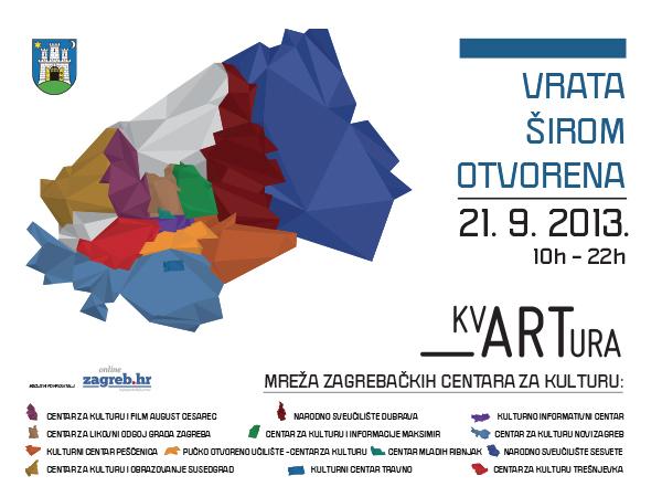 Dan zagrebačkih centara za kulturu: VRATA ŠIROM OTVORENA