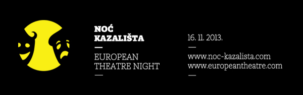 Noć kazališta / N. Horvat, M. Petković Liker: Bijeg nije rješenje / 16. 11. / 20:00