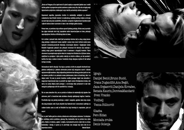 "Miroslav Krleža: ""Kolo od sreće"", režija Vesna Stilinović, Dramski studio Teatra na Trešnjevci"