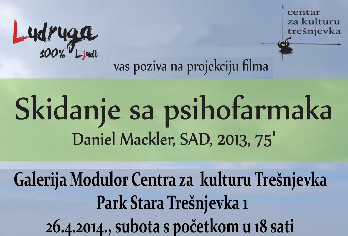 Ciklus inspirativnih dokumentarnih filmova po mjeri čovjeka: Skidanje sa psihofarmaka