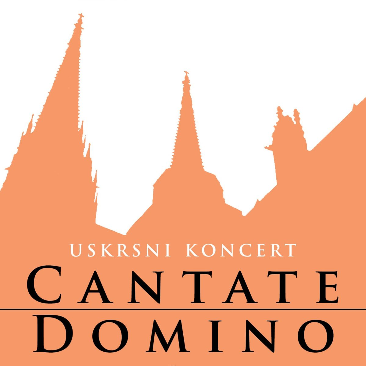 Uskrsni koncert CANTATE DOMINO