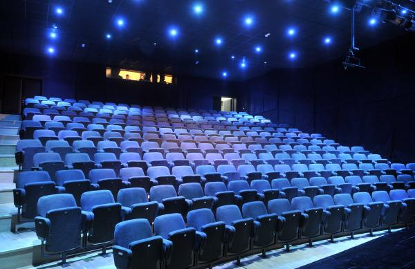 Dvorana Centra za kulturu Trešnjevka prije predstave