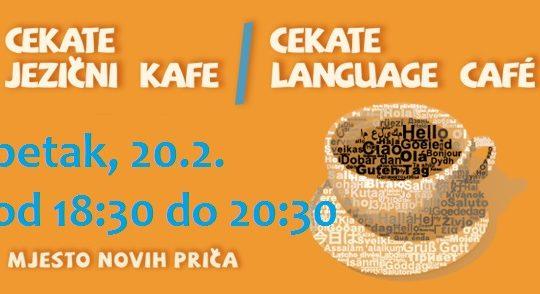 Cekate Jezični kafe /Cekate Language café 20.2.