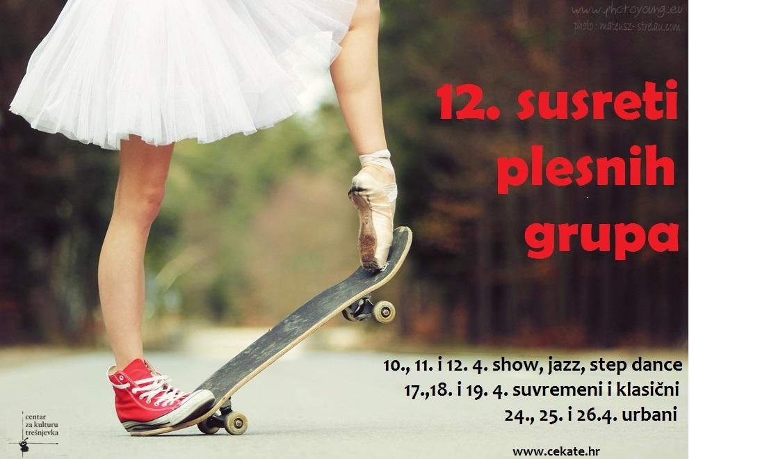 12. susreti plesnih grupa – show, jazz, step i društveni plesni izrazi