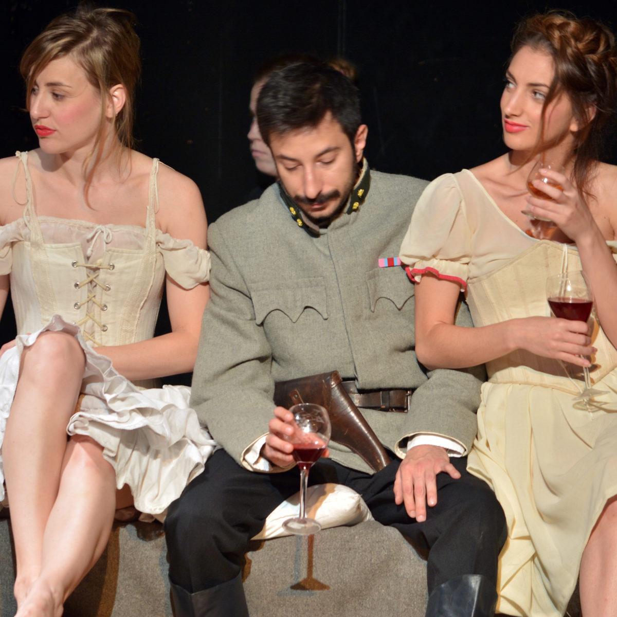 """GOSTOVANJE U BJELOVARU: Krleža: """"Galicija"""" / 6. 5. / 20:00 / u režiji Ive Srnec"""