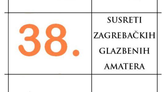 38. Susreti zagrebačkih glazbenih amatera