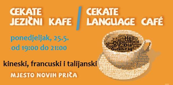 Cekate jezični kafe 25.5.
