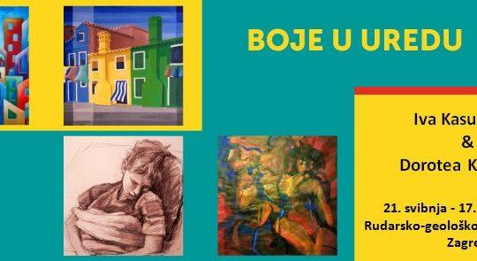 Projekt BOJE U UREDU/izložba na RNG fakultetu