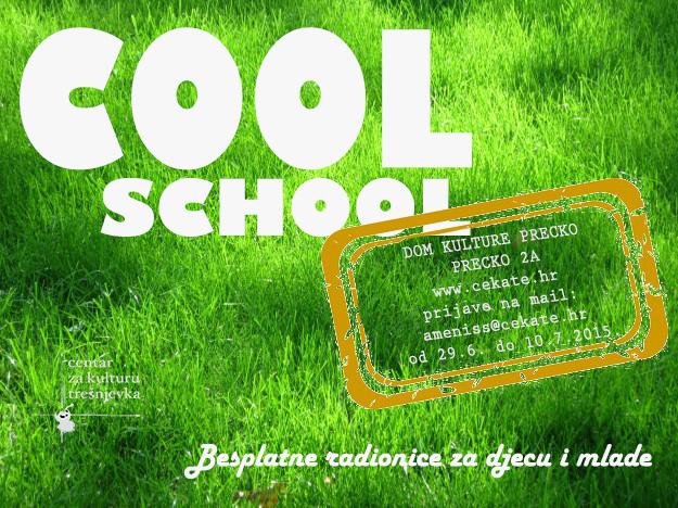 Cool School – besplatne folklorne radionice za vrijeme školskih praznika