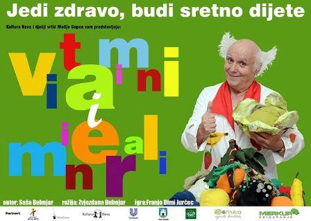 """PREMIJERA """"Vitamini i minerali"""" 21.6."""