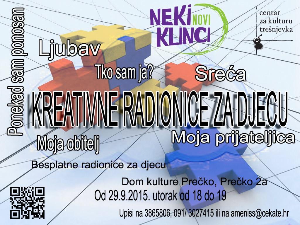 Besplatne Kreativne radionice za djecu u Domu kulture Prečko  Izgubljeno vrijeme