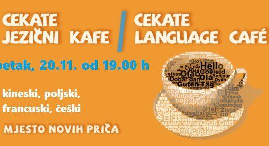 Cekate jezični kafe 20.11.