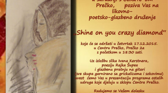 "Otvorenje izložbe ""Shine on you crazy diamond"" u CeKaTe-u Prečko"