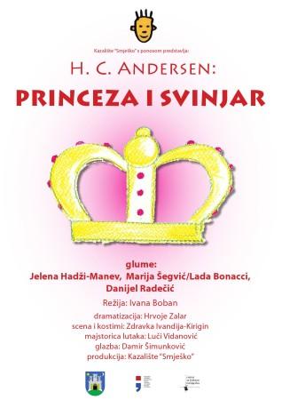 """""""Princeza i svinjar"""", Dječje kazalište Smješko"""