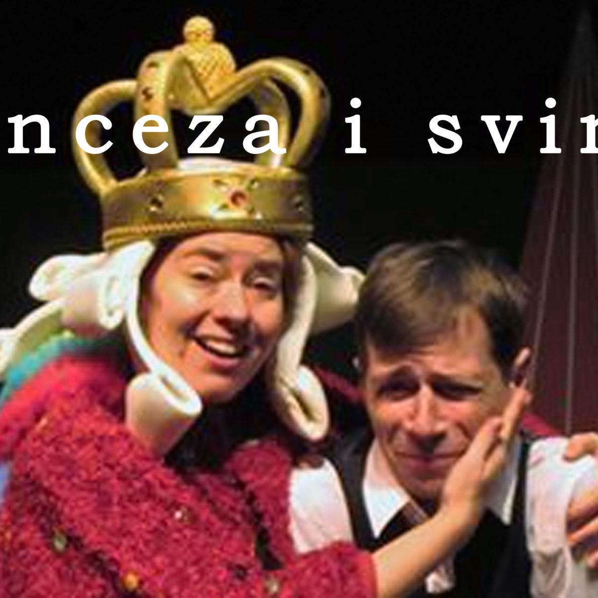 """NEDJELJNA MATINEJA: """"Princeza i svinjar"""" / 17. 1. / 11.30"""