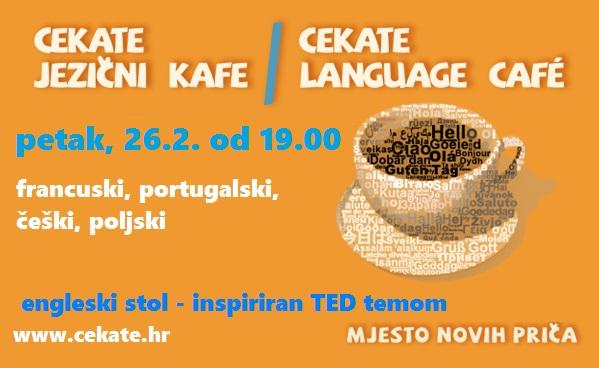 Cekate jezični kafe 26.2.