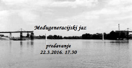"""""""Međugeneracijski jaz"""" predavanje prof. dr. Vladimira Grudena 22.3.2016."""