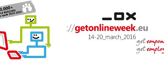 Paneuropska kampanja Get Online Week 2016