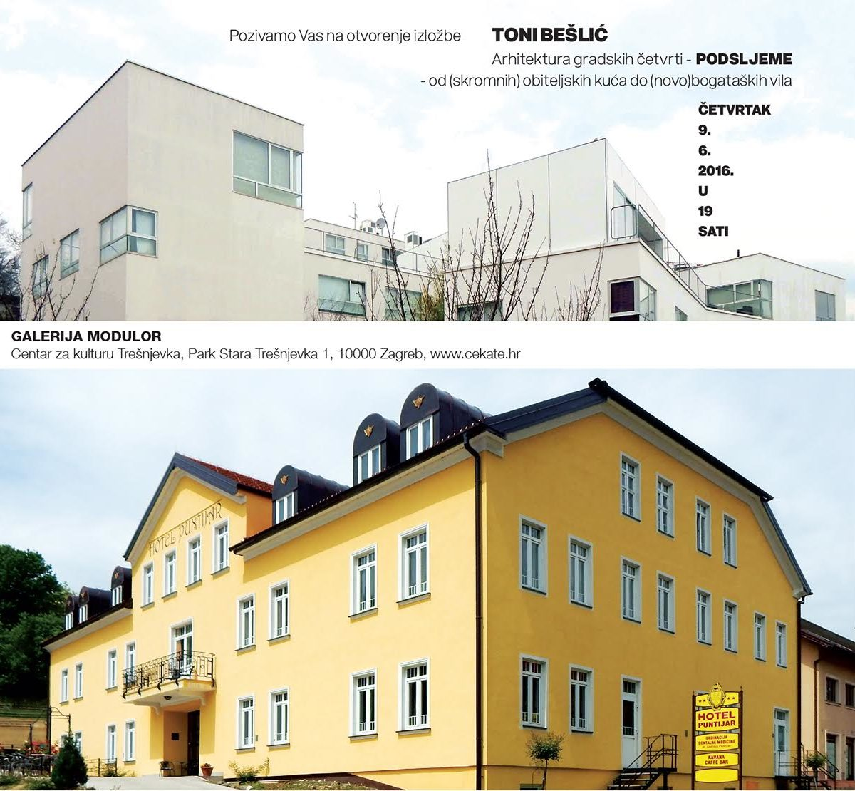 Arhitektura zagrebačkih četvrti/PODSLJEME-od (skromnih) obiteljskih kuća do (novo)bogataških vila