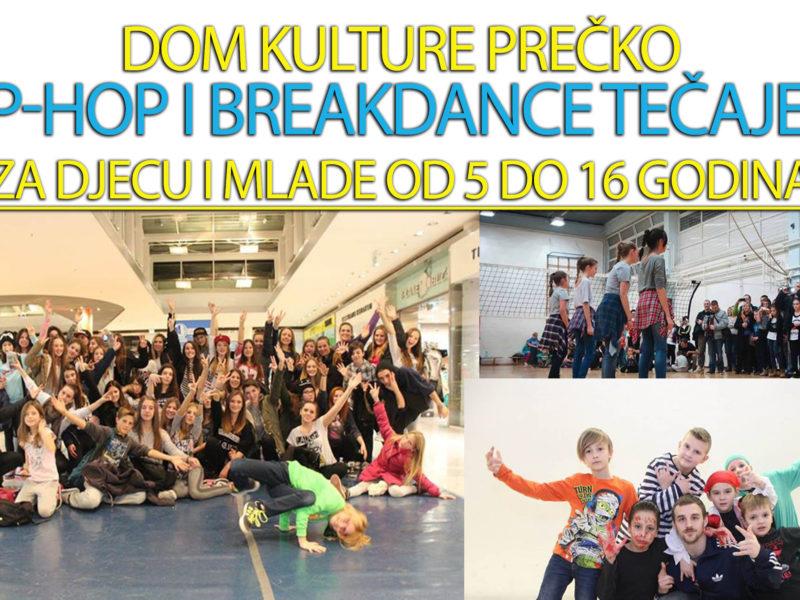 Besplatni Hip-hop i breakdance tečaj za djecu i mlade tijekom rujna / Kreativni inkubator