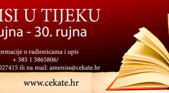 Upisi u novi semestar CeKaTe  50+ u CeKaTe-u Prečko