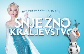 """Predstava za djecu """"Snježno kraljevstvo"""" 30.10. / 17:00"""