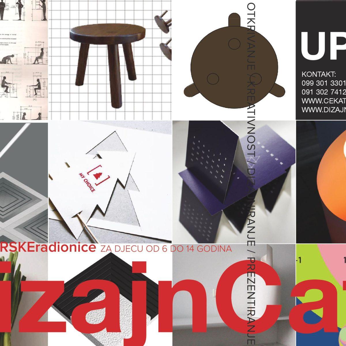Upisi u Dizajncafé / DIZAJNERSKE radionice