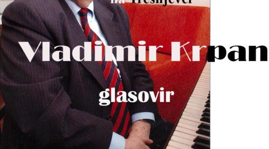 Ciklus koncerata klasične glazbe :  Vladimir Krpan, pijanist