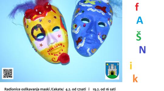 Radionice oslikavanja maski