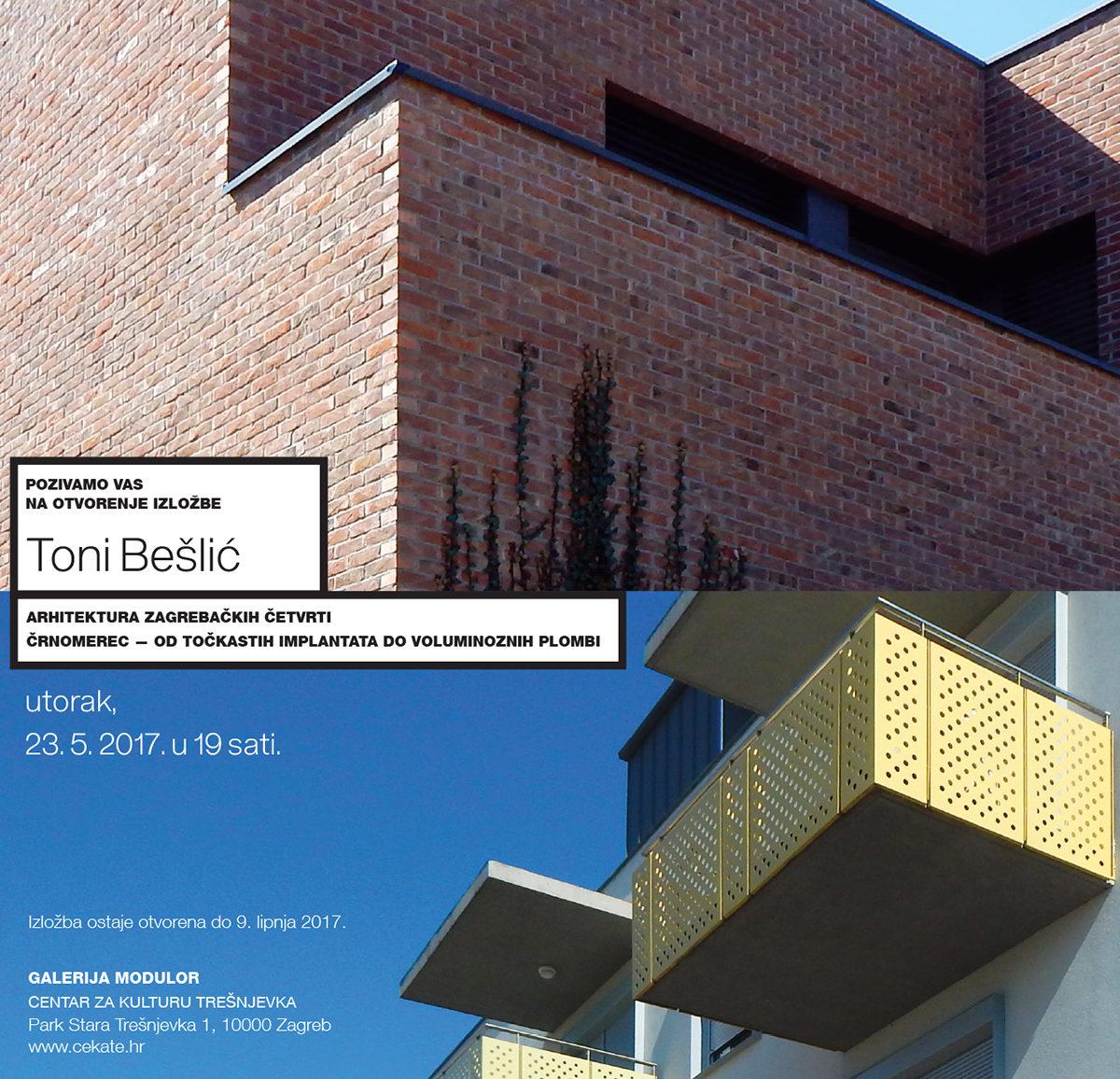 Arhitektura zagrebačkih četvrti: Črnomerec-od točkastih implantata do voluminoznih plombi