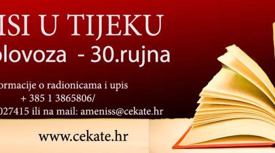 Upisi u CeKaTe 50+ / Klub Melisa u CeKaTe-u Prečko