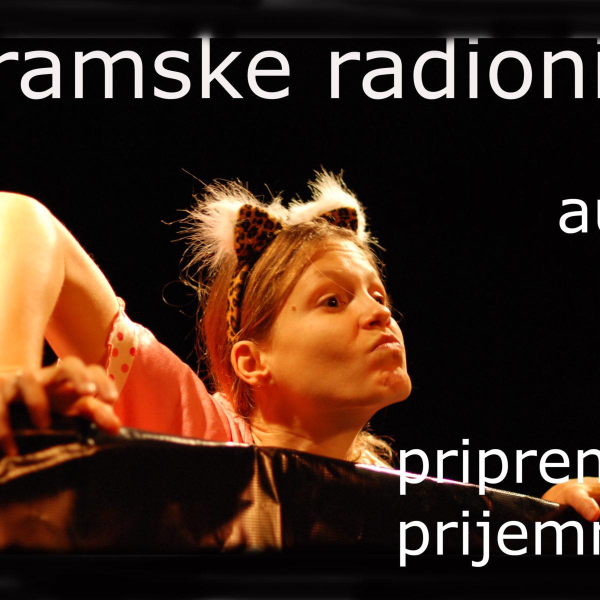 UPISI OD 1. – 30. 10. 2017: Dramske radionice CeKaTea za amatere i profesionalce