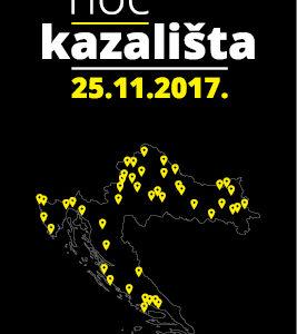 "CeKaTe NOĆ KAZALIŠTA: 25. 11. / 19.30 / ""Thalijin mozaik"" / Dom kulture Prečko, Prečko 2a / ulaz besplatan / 13+"