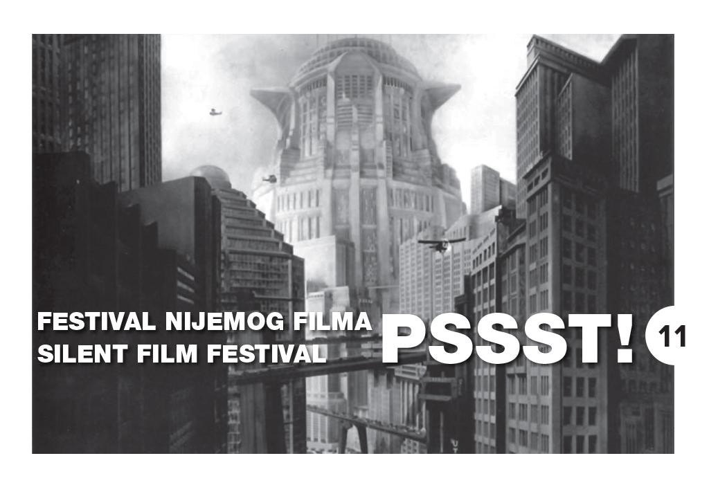 11. PSSST! Festival nijemog filma