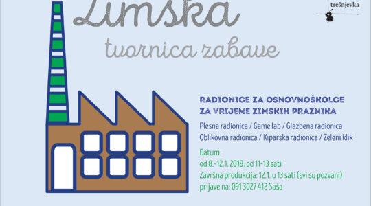 Cool school/Zima na Trešnjevci/radionice za vrijeme školskih praznika