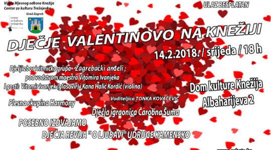 """Dječje Valentinovo na Knežiji / Dječja modna revija """"O Ljubavi"""""""