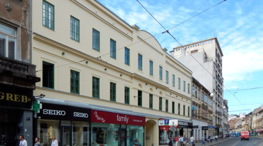 Arhitektura zagrebačkih četvrti/Središte grada