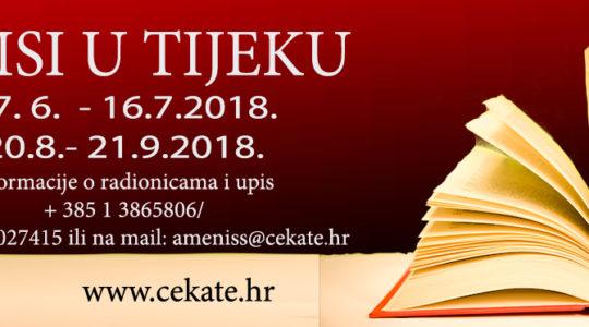 Upisi u nove radionice u CeKaTe-u Prečko sezona jesen / zima 2018