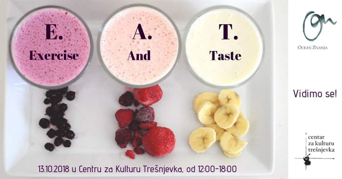 E.A.T Exercise And Eat – besplatan (i zabavan!) program tjelovježbe i zdrave prehrane u CeKaTe-u
