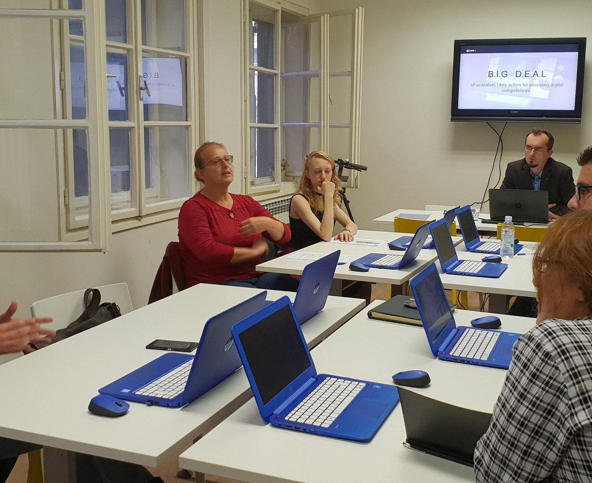 Modul E- facilitator u sklopu međunarodnog projekta BiTno je!/ B.I.G. D.E.A.L.